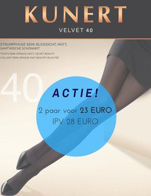 ACTIE! Kunert Velvet 40 den