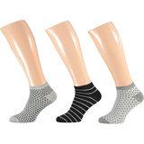 Bamboo Sneakers Multi Grey 3-Pack
